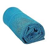 Yogatada Bicolore Ice Sport Asciugamano Viaggio Campeggio Asciugamani Freddi con Cool Effetto di Raffreddamento