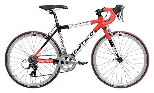 Carraro 903 d'Ambiez 22, Bicicletta Corsa Bimbo, Rosso/Nero, S