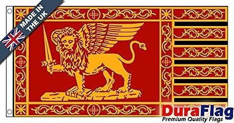 Duraflag® République de Venise 1848–1849(Porte Drapeau de qualité professionnelle et maillé), 1.5 Yard (137cm x 68cm)