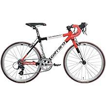 """Carraro 903 D'Ambiez 22"""", Bici Corsa Bambini, Rosso / Nero, S"""