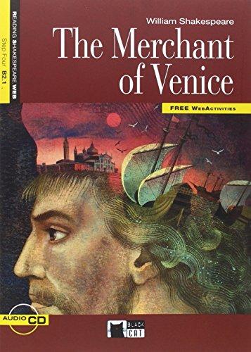 THE MERCHANT OF VENICE + CD N/E+ APP: 000001 (Black Cat. reading And Training) - 9788468233093 por de Agostini Scuola Spa
