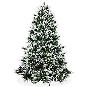 k nstlicher weihnachtsbaum 210cm deluxe in premium spritzguss qualit t angeschneite. Black Bedroom Furniture Sets. Home Design Ideas