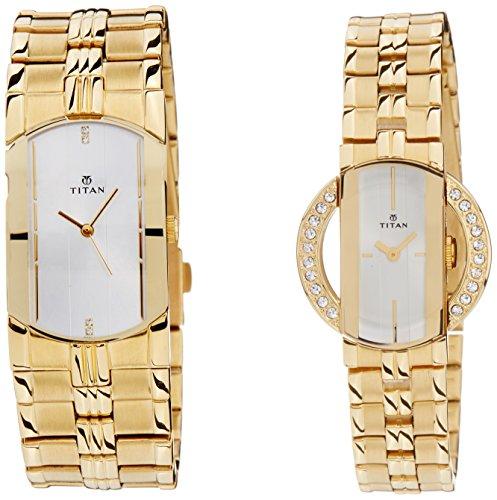 51ZH0K6GRfL - Titan NE19642964YM01 Bandhan watch