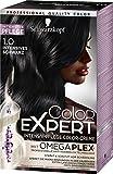 Schwarzkopf Color Expert Intensiv-Pflege Color-Creme 1.0 Intensives Schwarz, 3er Pack (3 x 167 ml)