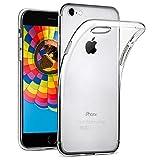 wsiiroon Hülle für iPhone 7 / iPhone 8, iPhone 7 / iPhone 8 Handyhülle [Liquid Crystal] Soft Flex Silikon Transparent Durchsichtig [Ultra Dünn] TPU Schutzhülle [4,7 Zoll]