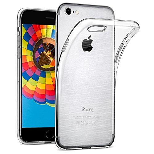 wsiiroon Hülle für iPhone 7 / iPhone 8, iPhone 7 / iPhone 8 Handyhülle [Crystal Clear] Soft Flex Silikon Transparent Durchsichtig [Ultra Dünn] Klar Weiche TPU Schutzhülle [4,7 Zoll]