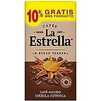 La Estrella Café  Molido de tueste natural (50%) y torrefacto (50%)