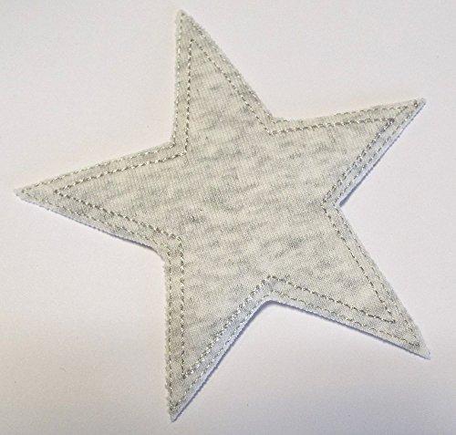 patches-bugelflicken-stern-jersey-grau-115-cm