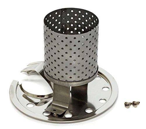 Petromax Radiatoren & Prallteller Set HK350/HK500 für Lampen ab Bj. 2000 (Chrom)