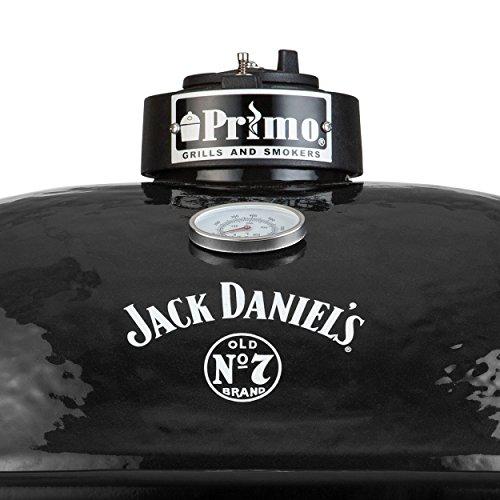 Primo OVAL 400 XL Keramik Grill Jack Daniel's Edition - 3