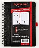Action Jour Fitness Planning–Undated hebdomadaire/mensuel pages–Taille 6x 8–mise en page conçu pour être et rester Fit–Nourriture et fitness Journal–(séance d'entraînement (+) Nutrition (+) d'exercice Agenda)...