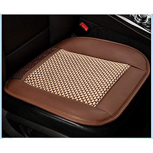 WYW Haartrockner Multifunktionsautositz Ice Silk Summer Cool Pad Belüftungssitz Klimaanlage Kissen,Brown,24V -