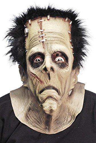 Kopfmaske Halloween Zubehör (Stich Gesicht Halloween Kostüm)