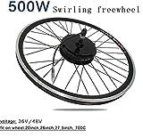 GZFTM 500 Watt 36 V / 48 V Elektrische Fahrrad hinterrad Motor geändert Mountainbike elektrofahrrad Motor e-Bike Motor