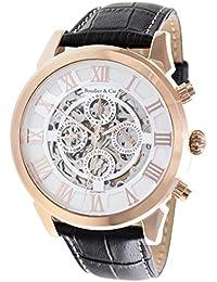 c4c43208b69f Boudier   Cie Hombre Colección Monumentum Skeleton - Reloj pulsera  Automático Analógico Esfera de esqueleto y