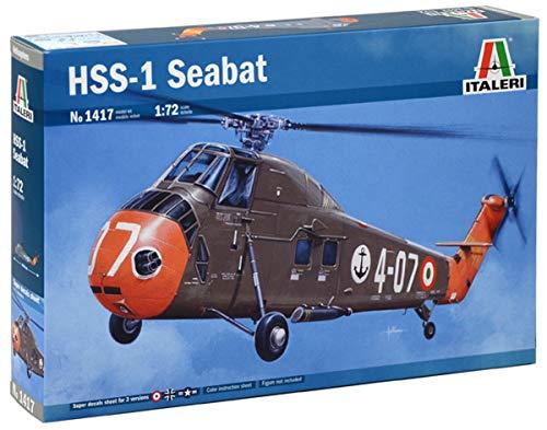 Italeri 1417 hss-1 seabat model kit elicottero plastica scala 1:72