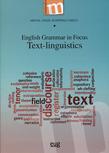 English grammar in focus. Text-linguistics (Manuales Major)