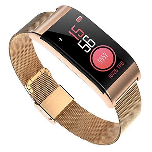 XHZNDZ Fitness Tracker HR, Activity Tracker mit Herzfrequenz und Blutdruck Monitor, Fitness Watch IP67 Wasserdicht Fitness Tracker für Kinder Frauen und Männer Health Tracker Armbänder -