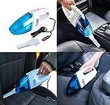 Anva Plastic Portable Wet and Dry 12V Car Vacuum Cleaner (Blue)
