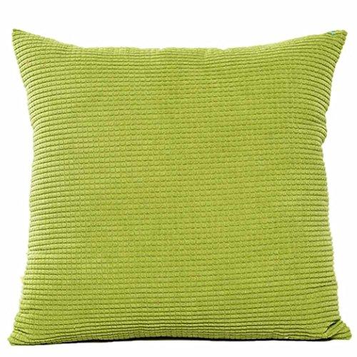 LuckyGirls Taie d'oreiller Canapé Housse de Coussin de Taille à la Maison Decor (Vert)