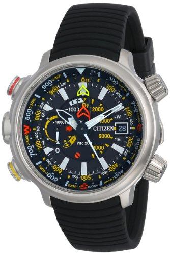 Citizen BN5030-06E - Reloj para hombres, correa de goma color negro