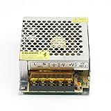 12V 5A Alimentatore Adattatore,60W Universale Regolato Commutazione Trasformatore per Striscia Led,Stampanti 3D,Telecamere, Impianti Di Sorveglianza
