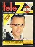 TELE Z [No 1557] du 09/07/2012 - GILLES BOULEAU - DECOUVERTE - ALESIA - LIVRE - POURQUOI PAS DE NICHOLS - CINEMA - JOHN CASSAVETES