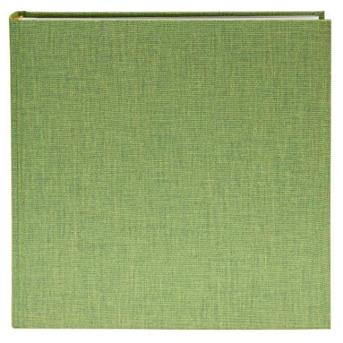 Goldbuch Fotoalbum, Summertime Trend, 30 x 31 cm, 100 weiße Seiten mit Pergamin-Trennblättern, Leinen, Hellgrün, 31805 -