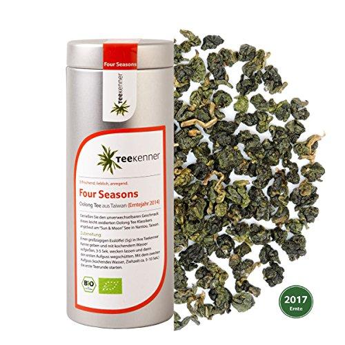 Four Seasons Oolong Tee in Bio-Qualität (120g) Erntejahr 2017