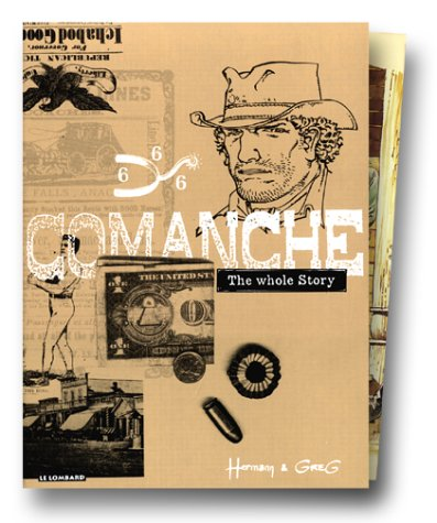 Comanche : The Whole Story, coffret de 3 volumes (tome 1, tome 2 et tome 3)