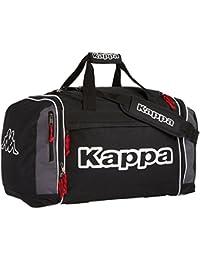Kappa Ghana Sports - Bolsa de deporte, tamaño 50 x 28 x 30 cm, color negro