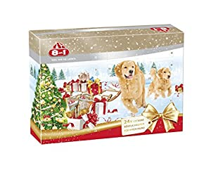 8in1 Adventskalender für Hunde, das Geschenk mit extra Kauspaß