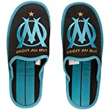 Pantoufles OM - Collection officielle Olympique de MARSEILLE - Taille adulte homme