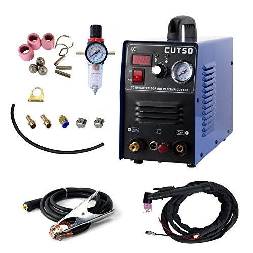 Pilot ARC Plasma Cutter???tosense cut50p 50?A 220?V Echtzeitbilder Digital Air Inverter tragbare Schwei?en Equipment 12?mm sauberen Schnitt