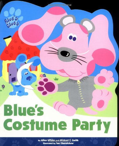 Blue's Costume Party (Blue's Clues (Simon & Schuster Paperback)) (Blues Clues Halloween)