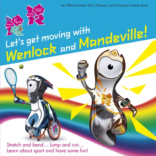 Let's Get Moving with Wenlock and Mandeville! (London 2012) por Steph Clarkson