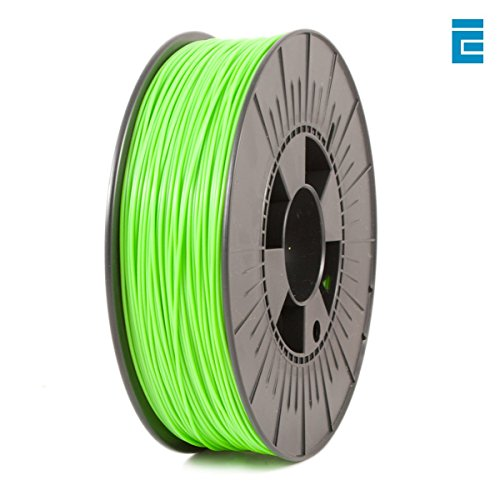 ICE Filaments ICEFIL1PLA110 PLA filament, 1.75mm, 0.75 kg, Fluo Gnarly Green