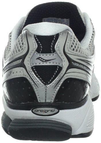 SAUCONY Pro Grid Echelon 3 Scarpa da Running Uomo WHT/SIL/BLK