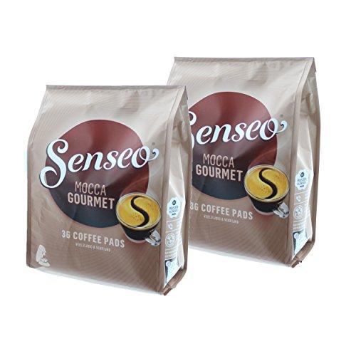 Senseo Kaffeepads Mocca Gourmet, Frisch & Intensiv, Kaffee für Kaffepadmaschinen, 72 Pads
