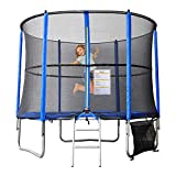 Best Trampoline With Enclosures - BPS 8FT/10FT/12FT Trampoline with Safety Enclosure Spring Padding Review