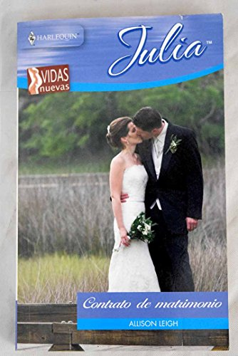 Portada del libro Contrato de matrimonio (MINISERIE JULIA)
