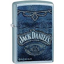 Zippo 60.002.092 Mechero de Jack Daniel's collection Spring 2016, Street de cromo