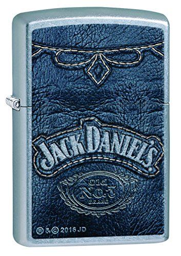 Zippo 60.002.092 Feuerzeug Jack Daniels Collection Spring 2016, Street Chrom