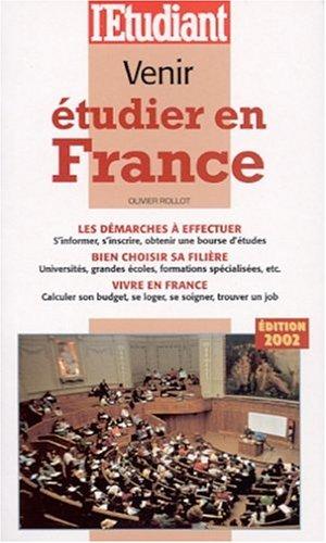 Venir étudier en France