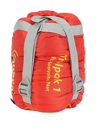 51ZHI2nSvGL - Snugpak | Travelpak 1 | Outdoor Sleeping Bag | Built in Mosquito Net | Antibacterial