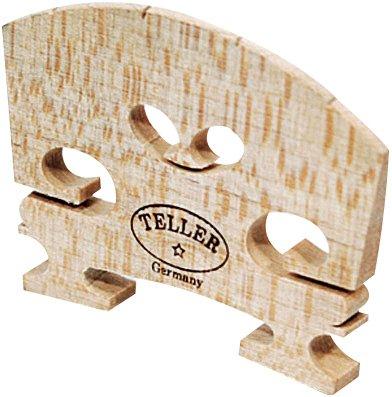 hidersine-teller-2-star-violin-bridge-4-4-size-fitted