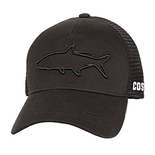 Costa Del Mar Stealth Tarpon Trucker Hut, Schwarz