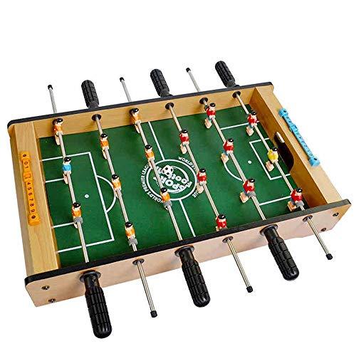 HttKse Creativa Mesa De Futbolín Pesada For Bar Sala De Juegos Mesa De Futbolín Juego - Características Varillas del Jugador - Regalos para niños Adultos Ayudar a Reducir el e