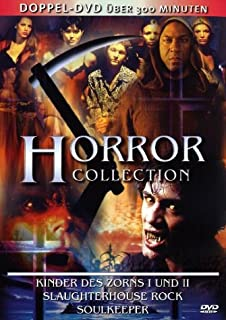 Horror Collection - Kinder des Zorns 1 und 2, Soulkeeper, Slaughter House Rock [2 DVDs]