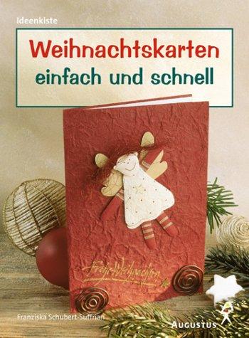 Weihnachtskarten einfach und schnell